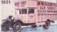 1931 Albert Streff Moving Truck