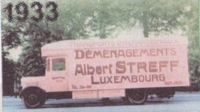 1933 Albert Streff Moving Truck