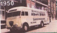 1950 Albert Streff Moving Truck