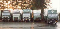 1985 Streff Moving Trucks fleet MAN and Iveco