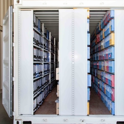 Document archiving company - Specialized 20 foot container full of archives