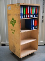 Streff Technology Archive Mobile File Trolley
